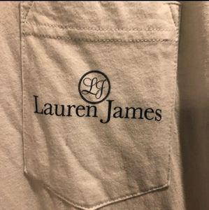 Lauren James Womans Mint/Sea Foam Green T-Shirt